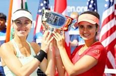 """Martina Hingis lập """"cú đúp"""" danh hiệu tại giải US Open 2015"""