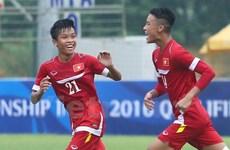 Thắng hủy diệt U16 Guam 18-0, U16 Việt Nam chễm chệ ngôi đầu