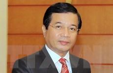 Trao tặng Kỷ niệm chương cho Đại sứ Lào Somphone Sichaleune