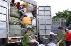 Phát hiện, bắt giữ nhiều vụ vận chuyển hàng hóa lậu vào Hà Nội