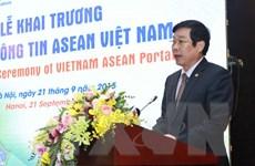 Cổng thông tin ASEAN Việt Nam chính thức được khai trương