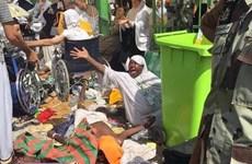 [Video] Xác người nằm la liệt sau vụ giẫm đạp kinh hoàng ở Mecca