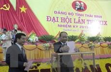 Ông Phạm Văn Sinh tái đắc cử chức danh Bí thư Tỉnh ủy Thái Bình
