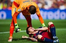 """Barca tổn thất nặng nề: Messi có nguy cơ lỡ trận """"kinh điển"""""""