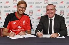 Jurgen Klopp chính thức trở thành huấn luyện viên của Liverpool