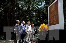Hoạt động về nguồn nhân kỷ niệm 55 năm Thông tấn xã Giải phóng