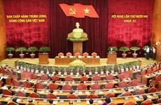 Thông báo nhanh kết quả Hội nghị 12 Ban Chấp hành Trung ương Đảng