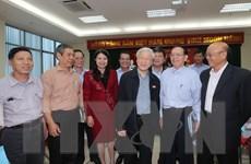 Tổng Bí thư Nguyễn Phú Trọng tiếp xúc cử tri Ba Đình, Tây Hồ