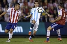 Argentina tiếp tục gây thất vọng, Uruguay chiến thắng tưng bừng