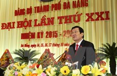 Khai mạc Đại hội đại biểu Đảng bộ thành phố Đà Nẵng lần thứ XXI