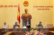 Thông cáo phiên họp thứ 42 của Ủy ban thường vụ Quốc hội khóa XIII