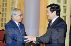 Chủ tịch nước tiếp Đoàn đại biểu Hội hữu nghị Nhật-Việt vùng Kansai