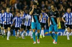 Arsenal thua thảm trước đội hạng nhất Sheffield Wednesday