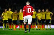 M.U chia tay Capital One Cup sau loạt sút luân lưu may rủi