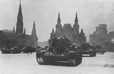 [Photo] Nga tái hiện cuộc diễu binh qua Quảng trường Đỏ năm 1941