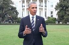 """Hơn 20.000 người """"Like"""" Facebook của ông Obama trong giờ đầu tiên"""