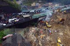 Lở đất và nổ khí gas tại Trung Quốc gây nhiều thương vong