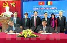 Bỉ hỗ trợ xây hệ thống thoát nước, xử lý nước thải ở Thái Nguyên