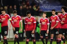Kết thúc vòng bảng Champions League: Tội nghiệp Man United