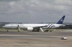 Pháp bắt giữ 2 nghi can trong vụ bom giả trên máy bay Air France