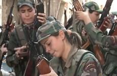 Cận cảnh nữ chiến binh Syria chống khủng bố bảo vệ quê hương