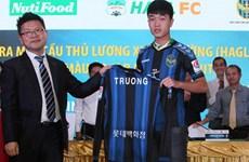 Xuân Trường đi vào lịch sử khi gia nhập CLB Incheon United