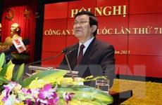 Chủ tịch nước dự và chỉ đạo tại Hội nghị Công an toàn quốc