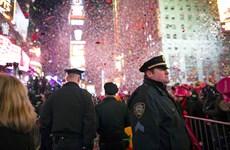 6.000 cảnh sát bảo vệ Quảng trường Thời Đại trước thềm Năm mới