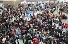 Lượng hành khách tại sân bay quốc tế Incheon tăng mức kỷ lục