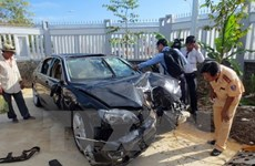 Cảnh sát gây tai nạn làm 9 người thương vong bị phạt 5 năm tù