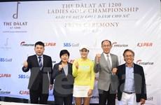 Hơn 100 nữ golf thủ hàng đầu tham dự giải The Dàlat at 1200