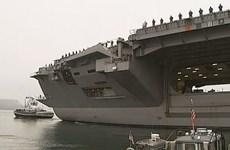 Mỹ triển khai thêm tàu sân bay hạt nhân Stennis tới Đông Á