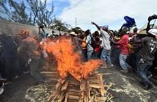 Hàng nghìn người Haiti biểu tình đòi tổng thống từ chức