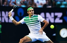 Đánh bại Berdych, Roger Federer chờ Novak Djokovic ở bán kết