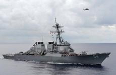 Nhật Bản lên tiếng sau vụ tàu Mỹ vào vùng 12 hải lý quanh đảo Tri Tôn