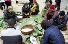 Hà Nội: Đậm đà hương vị bánh chưng Ước Lễ trong ngày Tết