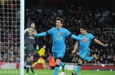 """Lionel Messi lập cú đúp, Barcelona lại """"gieo sầu"""" cho Arsenal"""