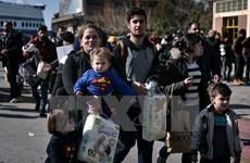 """Hy Lạp sẵn sàng khởi động """"kế hoạch B"""" cho vấn đề người di cư"""