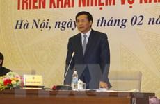 Khối thi đua các Bộ, ngành tổng hợp triển khai nhiệm vụ 2016