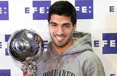 Luis Suarez giành giải thưởng Cầu thủ xuất sắc nhất Mỹ Latinh