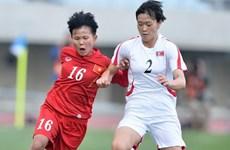 Đội tuyển nữ Việt Nam thua đầy tiếc nuối trước Triều Tiên