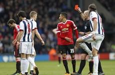 Juan Mata lĩnh thẻ đỏ, Man United ôm hận trước West Brom