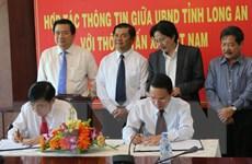 Đẩy mạnh hợp tác thông tin giữa TTXVN và UBND tỉnh Long An