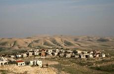 Israel đã hợp thức hóa nhiều vùng đất rộng lớn tại khu Bờ Tây