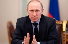 Ông Putin sẽ kiểm tra hoạt động xây cầu nối Nga với Crimea
