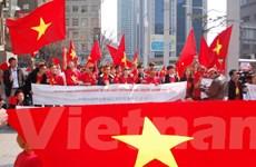 Người Việt tại Hàn phản đối hành động của Trung Quốc ở Biển Đông