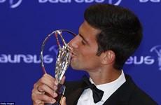 """Vượt mặt Messi, Novak Djokovic lần thứ 3 giành """"Oscar thể thao"""""""