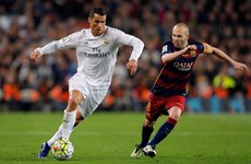 """La Liga: Atletico """"đầu hàng,"""" Real và Barca tranh ngôi vương"""