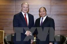 Thủ tướng Nguyễn Xuân Phúc tiếp Chủ tịch Đảng Cộng sản LB Nga