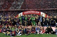 Barcelona giành Cúp Nhà vua sau trận cầu có đến 3 thẻ đỏ
